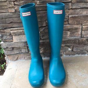 Women's Hunter Boots - 9